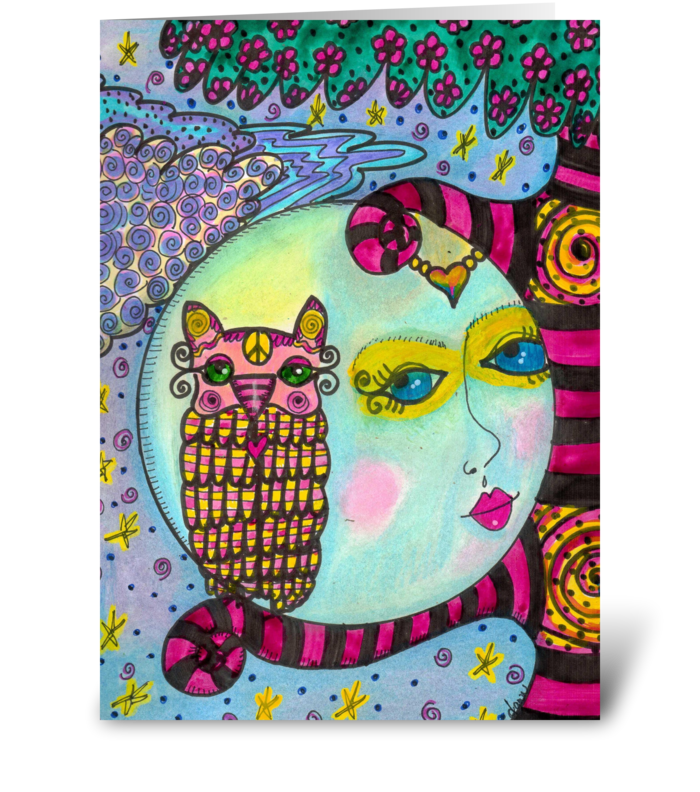time for dreams greeting card
