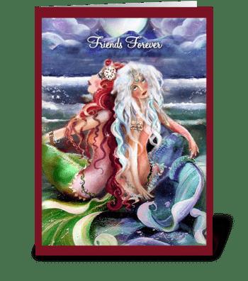 Friendship greetings greeting card