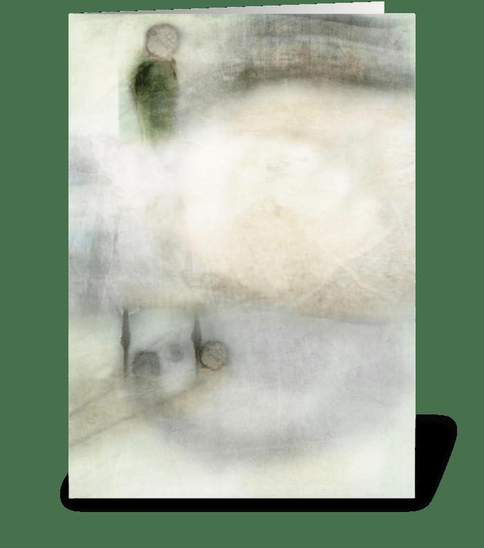 Bird Series (5) greeting card