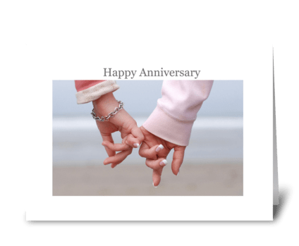 Happy Anniversary greeting card