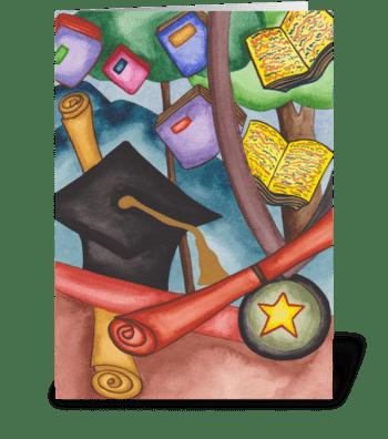 graduation degree greeting card
