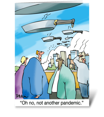 Birthday Oh No Not Another Pandemic greeting card