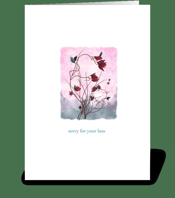 Evening Breeze greeting card