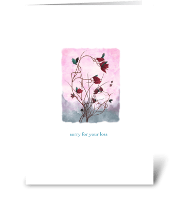 Evening Breeze greeting card