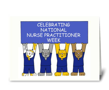 Nurse Practitioner Week greeting card