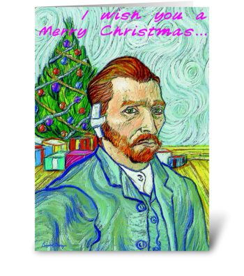 I Wish You a Merry Christmas ... greeting card