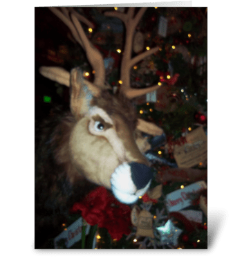 It is Christmas, DEER!! greeting card