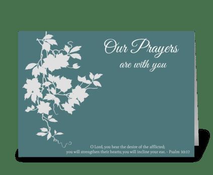 Sympathy Card greeting card