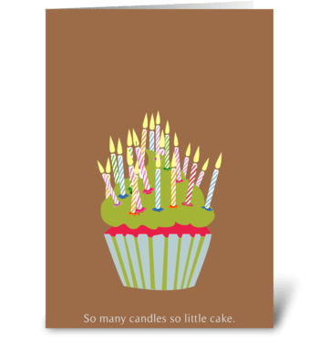 Growing Up greeting card