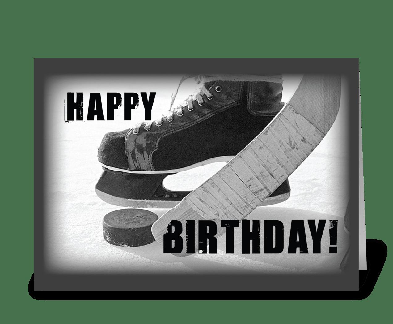 С днем рождения мужчине хоккеисту открытки