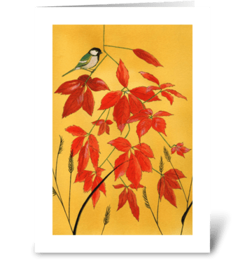 Autumn's Gifts greeting card