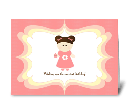 Sweetest Birthday greeting card