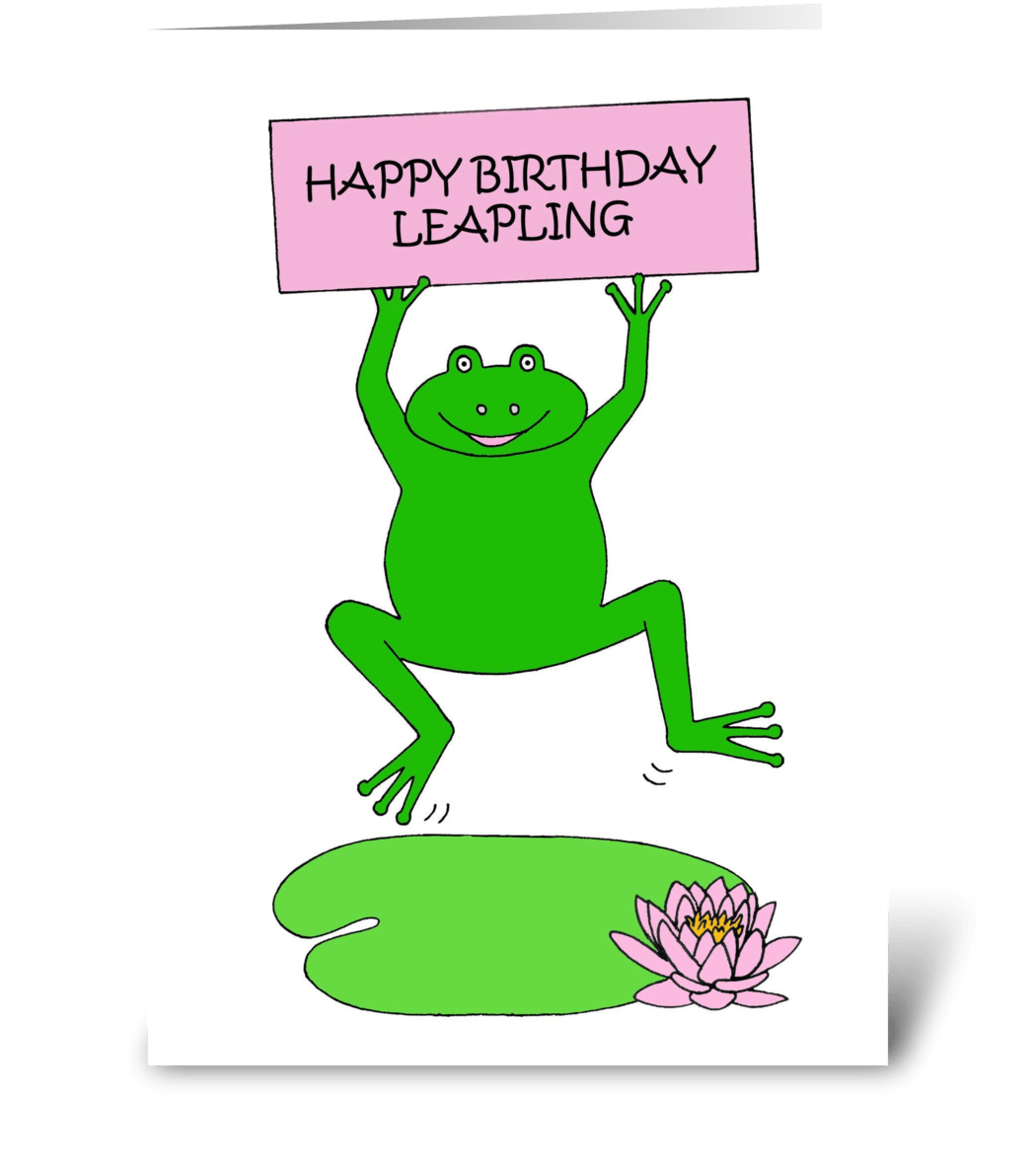 February 29th Leap Year Birthday