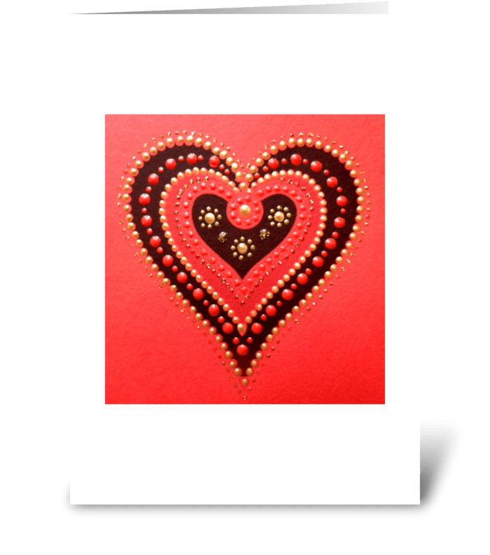 ...with LOVE greeting card