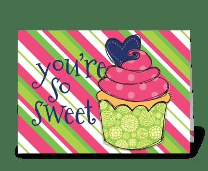 Sweet Treat greeting card