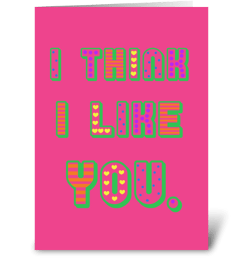 Like you greeting card