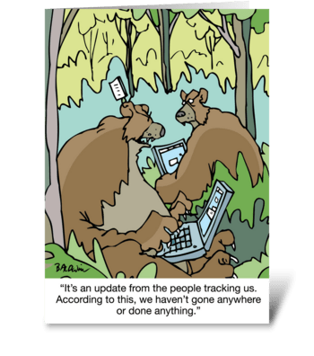 It's Your Anniversary Go Wild greeting card