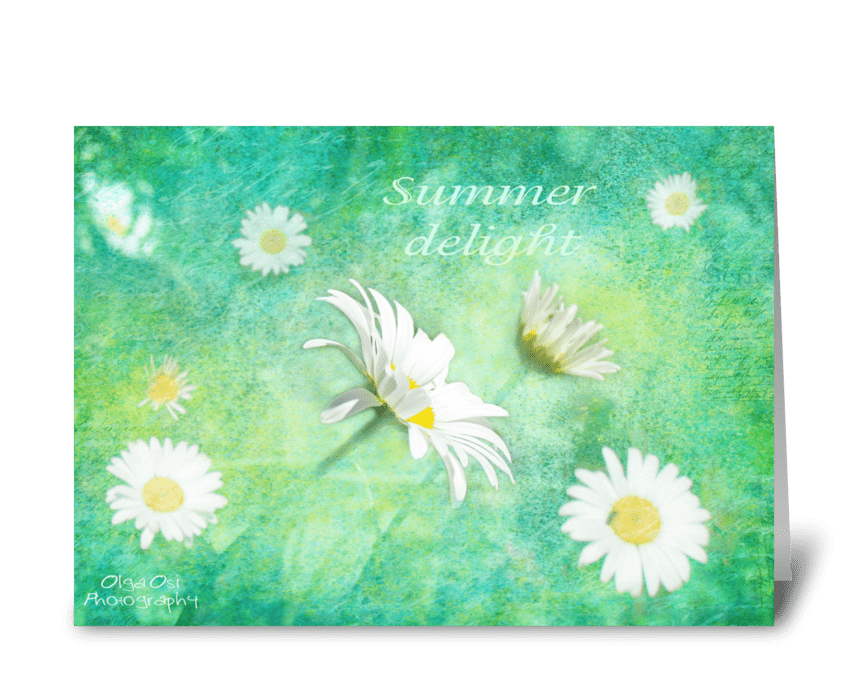 Summer Delight greeting card