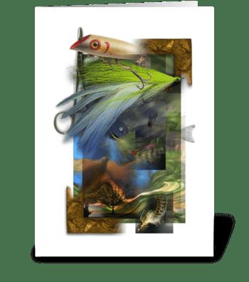Fishing Dreams greeting card