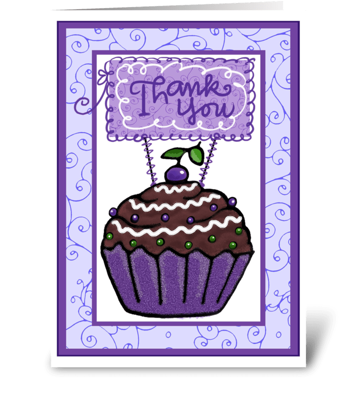 Sweet Thank You  greeting card