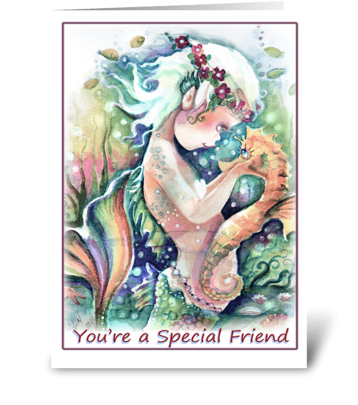 Special Friend Greeting greeting card