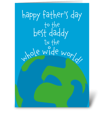 49 Father's Day Card for Daddy greeting card