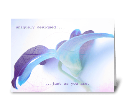 Anniversary - uniquely designed greeting card