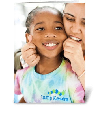Camp Kesem - Father's Day Give a Laugh greeting card