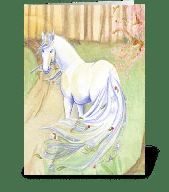 believe in magic greeting card