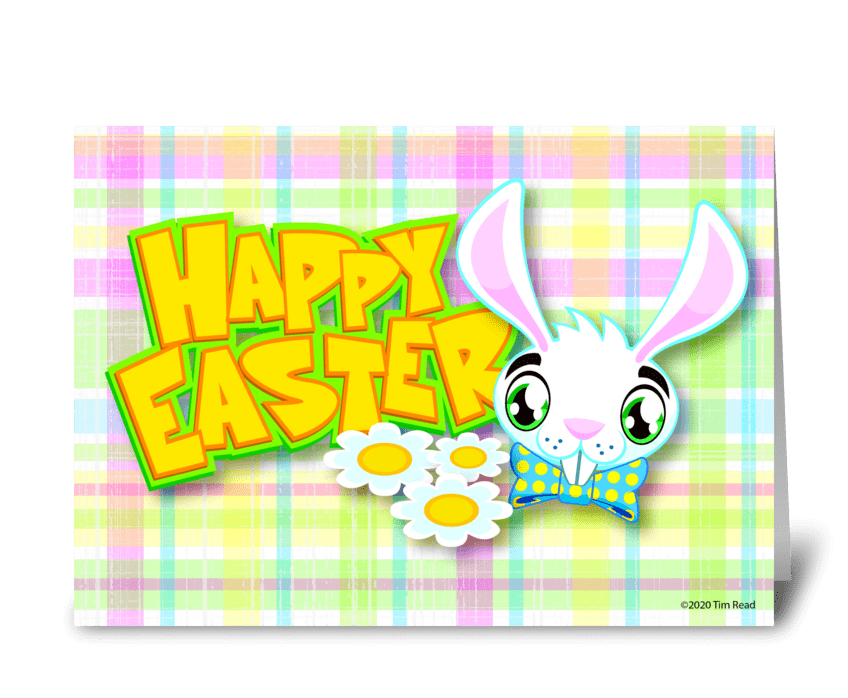 Some Bunny Easter Card greeting card