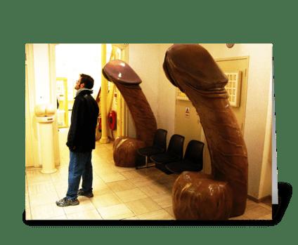 Amsterdam Sex Museum greeting card
