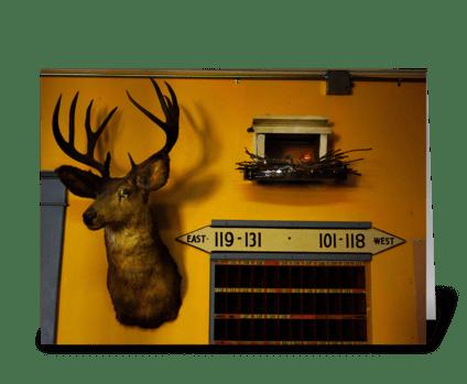 Cheyenne Motel greeting card