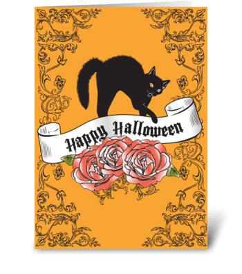 Happy Halloween! greeting card