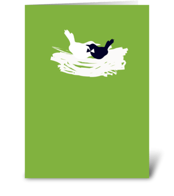 Wedding Birds greeting card