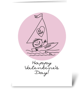Valentine's-Day_drawing1 greeting card