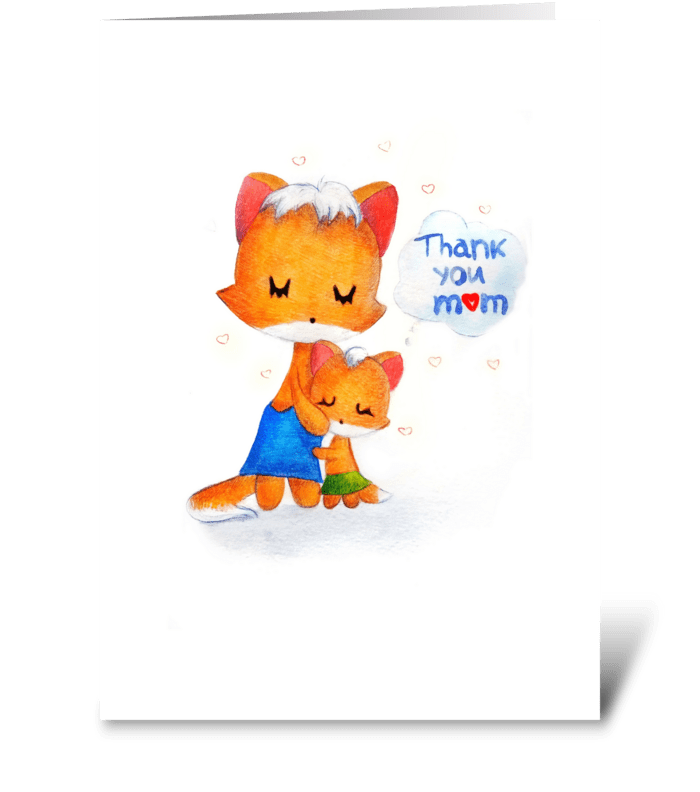 A gift for mom greeting card