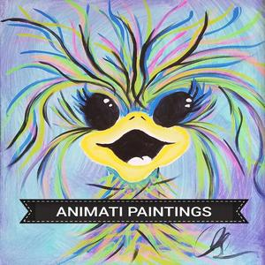 Greeting cards designed by Animati Paintings Cards