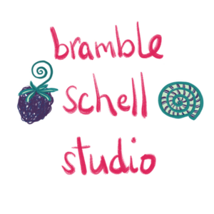 Greeting cards designed by Bramble Schell Studio