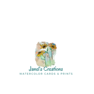 Greeting cards designed by Janel's Creations Watercolor Cards