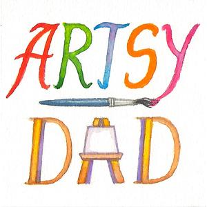 Greeting cards designed by Artsy Dad